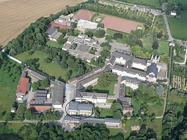 Atelier-Gebäude auf dem Klostergelände Knechtsteden